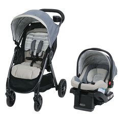 """Graco FastAction DLX Travel System - Sands - Graco  - Babies""""R""""Us"""