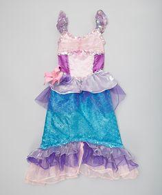 Love this Disney Princess Ariel Deluxe Dress - Girls by Disney Princess on #zulily! #zulilyfinds