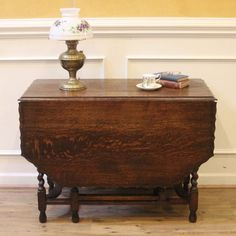 Shop for on Etsy, the place to express your creativity through the buying and selling of handmade and vintage goods. Dining Table Legs, Drop Leaf Table, Refinished Furniture, Leaves, English, Antiques, Gate, House, London