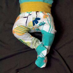 Baby pattern sewing footie pants pdf file by brindilleandtwig, $4.50
