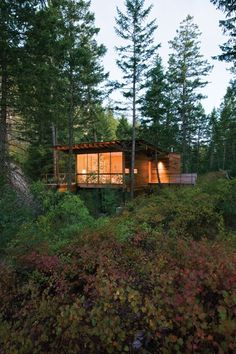 My kinda cabin: Cabin on Flathead Lake - A project by Andersson Wise Architects
