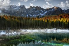 Carezza Lake (Italy) by Marco Carmassi, via 500px