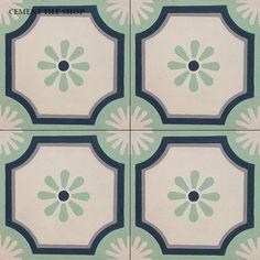 Cement Tile Shop - Encaustic Cement Tile Margaritas