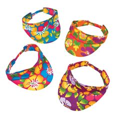 Add a taste of the tropics with these Hibiscus Print Luau Visors. Hand them out at your next luau as terrific tropical party favors. Add some grass skirts and . Luau Party Favors, Retirement Party Favors, Tiki Party, Hawaiian Party Favors, Hawaiian Hats, Hawaiian Theme, Hawaiian Luau, Adult Luau Party, Luau Costume