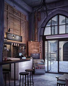 «⠀⠀ Хочешь свой ресторан, бар, кофейню в стиле Лофт? Команда мастеров LOFT Interior готова выполнить дизайн-проект любой сложности для вашей Квартиры,…»