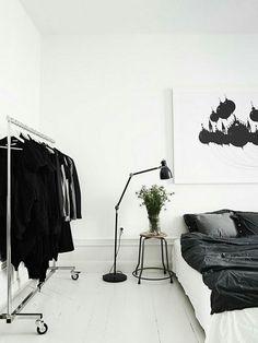 Minimalist bedroom idea?
