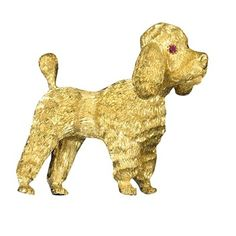 Scully And Scully, Scale Design, Dog Jewelry, Cat Pin, Like Animals, Beaded Animals, Poodle, Brooch Pin, Dog Lovers