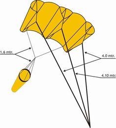 Resultado de imagen para como hago un papalote de cubo
