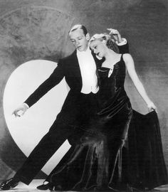Fred Astaire & Ginger Rodgers, Roberta, 1935 (gowns by Bernard Newman)