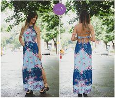 Recortes e fendas... lindo demais esse vestido!  #Vemprazas