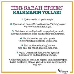 Her sabah erken kalkmanın yolları Self Development, Personal Development, Motivation Sentences, Getting Up Early, Self Motivation, How To Get, How To Plan, Best Self, Better Life