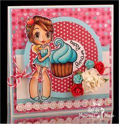some odd girls christmas card   Some Odd Girl Image - Cupcake Mae   Cards
