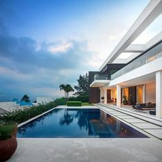 #home #house #ideas #modern #architecture #pool #outdoor