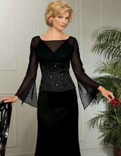 Mother Bride Dresses Black