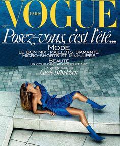 Gisele Bundchen Vogue Paris