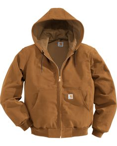online shopping for Carhartt Men's Thermal Lined Duck Active Jacket from top store. See new offer for Carhartt Men's Thermal Lined Duck Active Jacket Hooded Bomber Jacket, Carhartt Jacket, Trench Coat Men, Men Coat, Men's Coats And Jackets, Well Dressed Men, Jackets Online, Jackets, Clothes