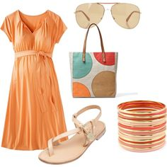 """""""Summer Maternity"""" by adorable-little-things on Polyvore"""