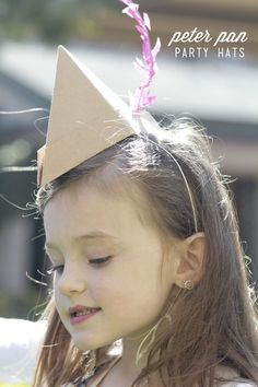 Peter Pan party hats