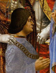 Ludovico Sforza ~ called The Moor, Italian Il Moro (1452, Vigevano, Pavia, duchy of Milan -1508, Loches, Toubrenne, Fr.), Italian Renaissance regent (1480–94) and Duke of Milan (1494–98), a ruthless prince and diplomat and a patron of Leonardo da Vinci and other artists. Francesco I Sforza and Bianca Maria Visconti. In 1491 Ludovico married Beatrice d'Este, the beautiful and cultured daughter of the Duke of Ferrara.