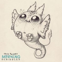 Floaty, Flappy, пернатые пятницу!  #morningscribbles