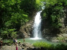 A local waterfall.