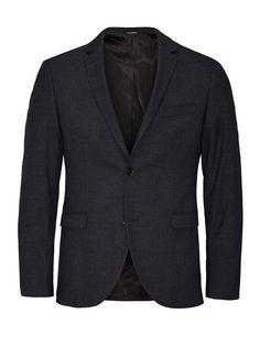 Jack & Jones Karierter Slim Fit- Blazer für 119,95€. Karierter Blazer von PREMIUM, Slim fit, Fallendes Revers bei OTTO