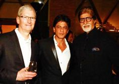 Apple CEO dines with Bollywood badshah SRK at 'Mannat'