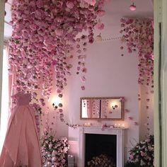 rooms of flowers