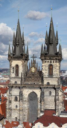 Tyn Church (Prague) Gothic Architecture