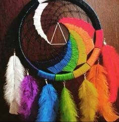 Pink Floyd, Dark Side Of The Moon dream catcher.