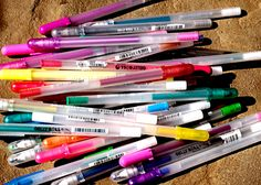 Favorite Pens for Writing, Sketching, Doodling &Drawing - daisy yellow - create explore paint