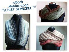 Anleitung f. SCHIEF GEWICKELT - Möbius-Loop von Mrs-Postcard auf DaWanda.com