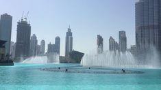 "Dancing Fountain daytime- with ""Baba Yetu"""