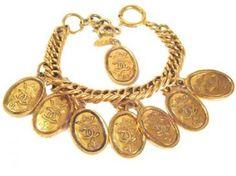 Vintage Chanel Charm Bracele