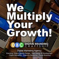 We Multiply Your Growth!  DigitalBrandingCraftship.com +92 423 6621543 +92 321 8402078 #dbc #b2b #b2c #Branding #marketing #shop #website #design #development #graphicdesign #digitalmarketing #digitalbranding #brandidentitydesign #growth #business #businessdevelopment #digitalagency #webdesign #ecommerce #entrepreneur #startup #sales #smm #smo #seo #sem #ux #socialmedia #lahore #islamabad #pakistan Competitor Analysis, S Mo, Brand Identity Design, Design Development, Ecommerce, Digital Marketing, Web Design, Branding, Social Media