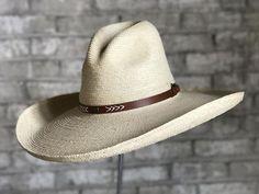 84524639adee0 Palm Straw Big Gus Cowboy Hat