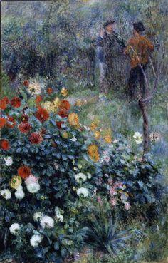 "Pierre Auguste Renoir, ""The Garden in the Rue Cortot, Montmartre"", 1876. Acquired through the generosity of Mrs. Alan M. Scaife"