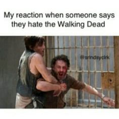 Or that they say Darryl is going to die