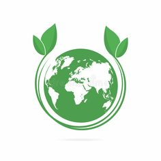 Eco World Symbol, Icon. Eco Friendly Concept For Company Logo Stock Vector – Illustration of business, leaf: 97191154 – Fu'una Cultures - Responsible Globe Logo, Logos, Friend Logo, Company Logo, Company Symbol, Business Company, Global Map, Environmental Art, Word Art