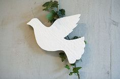 wooden dove from not on high street