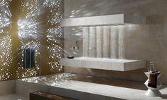 Chuveiro horizontal muda o conceito de tomar banho (horizontal shower)