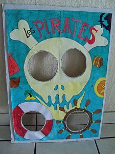 pirate bean bag game