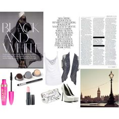 """""""white of black and white"""" by mellissa-rupnow on Polyvore"""