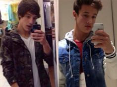 Cam long hair to short hair😍❤