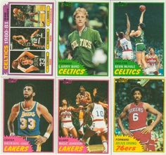 1981 / 1982 Topps Basketball Series Complete NM/MT Hand Collated 198 Card Set, It Was Never Issued in Factory Form. Loaded with Stars and Hall of Famers Including Kevin Mchale's Rookie Card, Larry Bird, Magic Johnson, Kareem Abdul Jabbar, Dennis Johnson, Dr. J. Julius Erving, Robert Parish, Moses Malone, George Gervin, Bill Laimbeer and More! by Topps. $84.99. This is the 1981/1982 Topps Basketball series complete NM/MT hand collated 198 card set, it was never issued in factory...