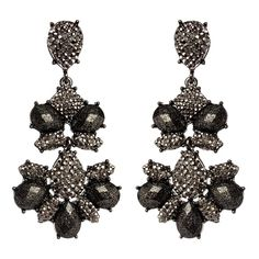 •Amrita Singh Dangle Earrings• •Gorgeous chandler earrings. Gunmetal brass earrings with resin stones. Closure: Posts• Amrita Singh Jewelry Earrings