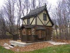 Bavarian Cottage Playhouse - traditional - outdoor playsets - salt lake city - by Fancy Builder, Inc.