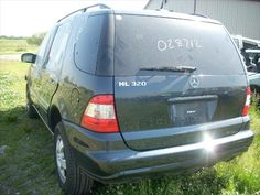 2002 Mercedes-Benz M-Class being Parted Out from D&S Used Parts ini Blackstone, IL