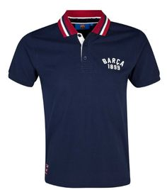 barcelona polo navy red FC Barcelona Official Merchandise Available at www.itsmatchday.com