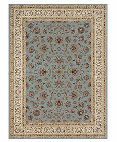 "Loloi Area Rug, Samira WL04 Isfahan Blue/Ivory 7'7\"" x 10'6\"""